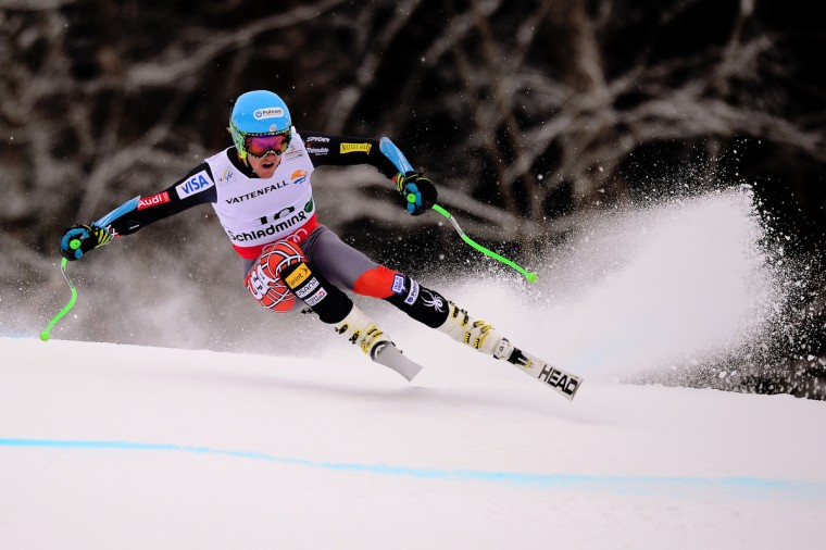 US Ted Ligety competes during the men's Super-G event of the 2013 Ski World Championships in Schladming, Austria. (Olivier Morin/Getty Images)