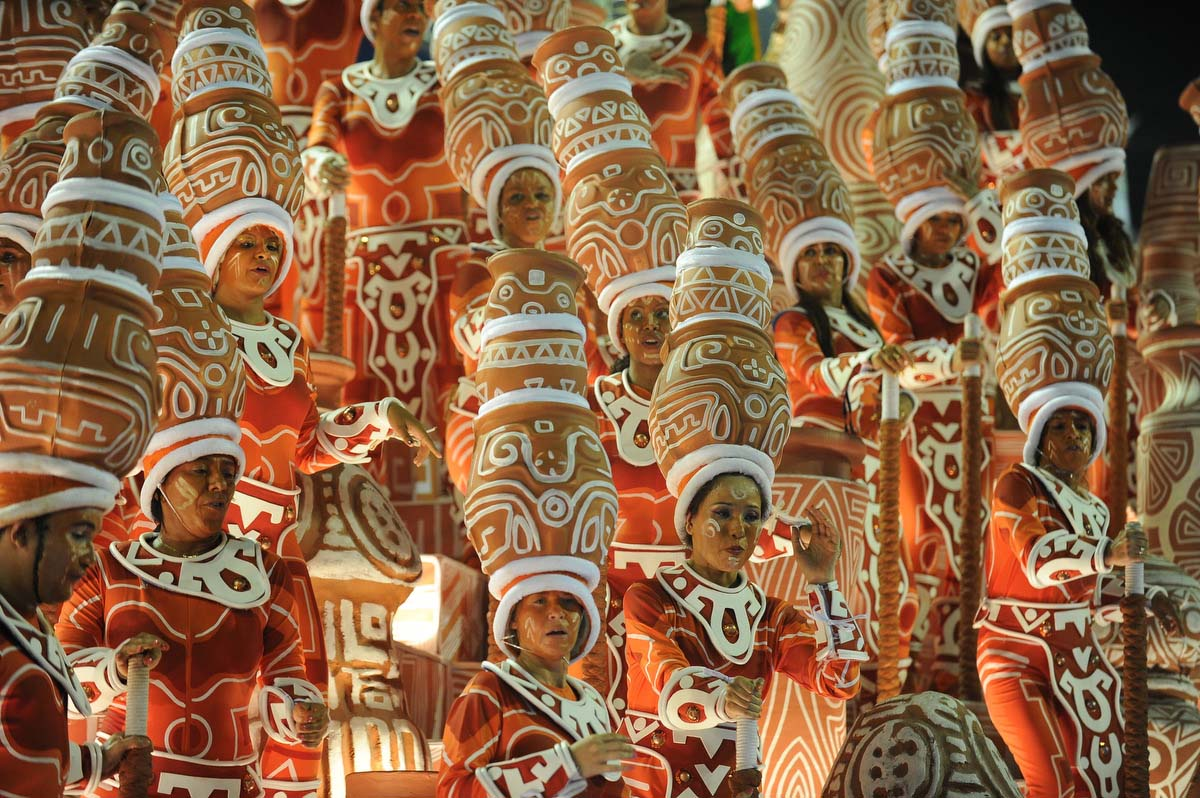 Carnival season around the world