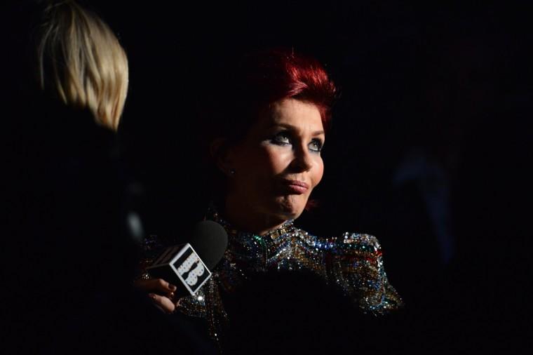 British TV presenter Sharon Osbourne attends the BRIT Awards 2013 in London. (Ben Stansall/Getty Images)