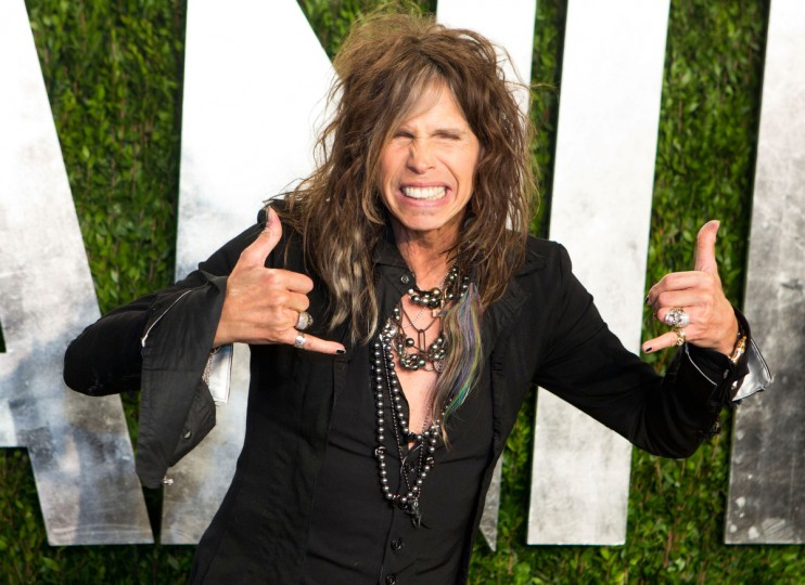 Steven Tyler arrives for the 2013 Vanity Fair Oscar Party on February 24, 2013 in Hollywood, California. (Adrian Sanchez-Gonzalez/Getty Images)