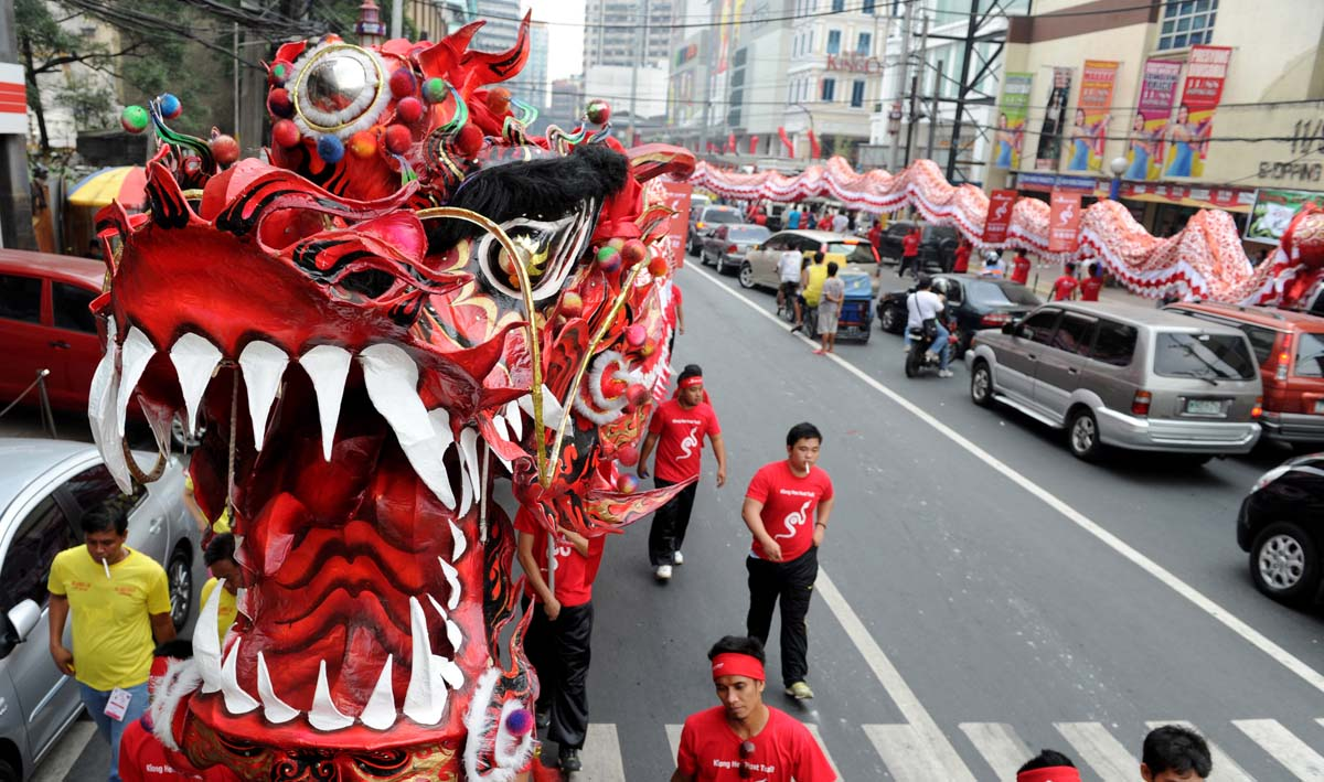 Year of the Snake: A look at celebrations kicking off the Chinese Lunar New Year