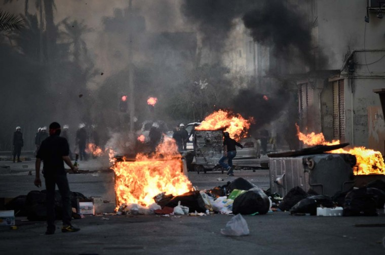 TOPSHOTS-BAHRAIN-POLITICS-UNREST