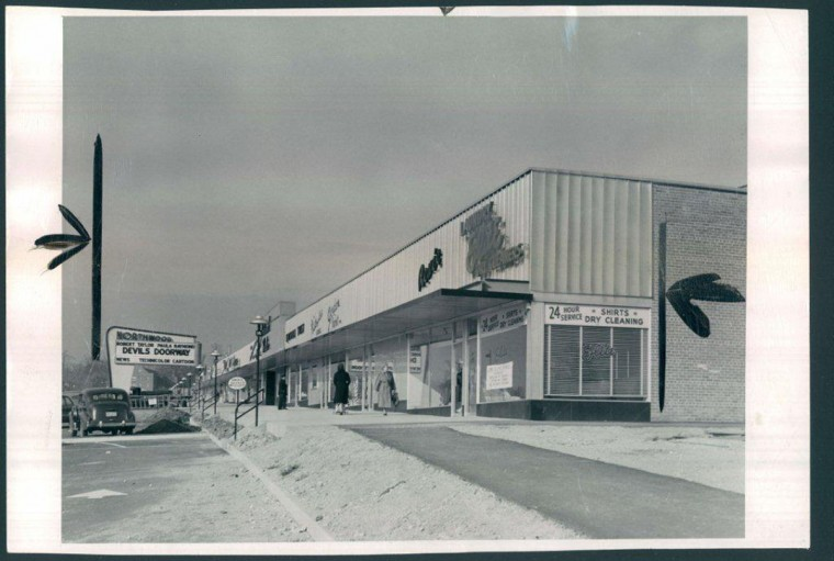 Nov. 24, 1950: The new Northwood Shopping Center as published in the Evening Sun. (Frank Kalita/Baltimore Sun)