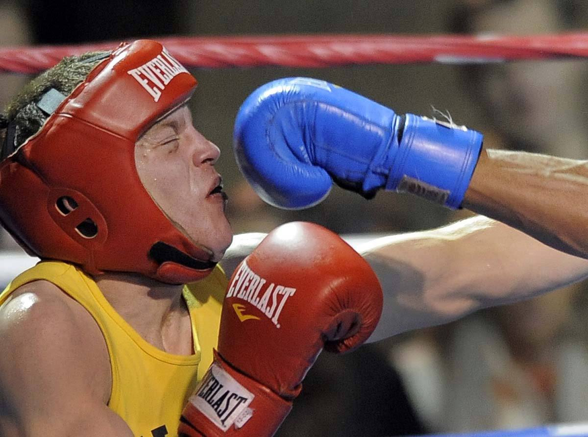Brigade Boxing Championships at the Naval Academy