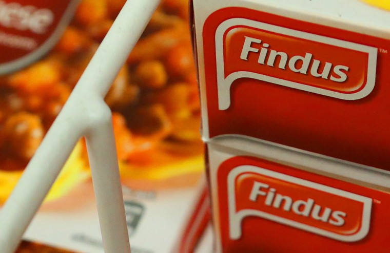 Food manufacturer Findus confirmed on Thursday results of tests carried out by Britain's Food Standards Agency that showed that the company's beef lasagne contained horse meat. (David Moir/Reuters)