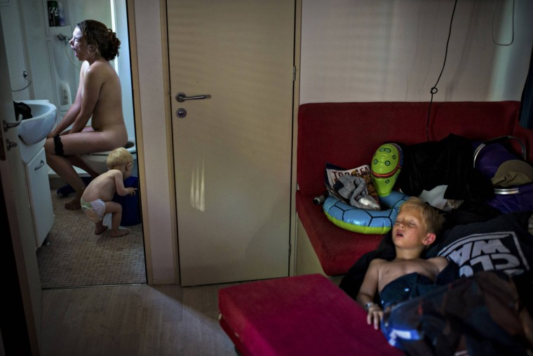 #11: Soren Bidstrup of Denmark, a photographer working for Berlingske, has won the second prize in the Daily Life Single category of the World Press Photo Contest 2013 with this picture of a summer holiday camping trip in Jeselo, taken on July 8, 2012 and distributed by the World Press Photo Foundation February 15, 2013. (Soren Bidstrup/Berlingske/World Press Photo/Handout/Reuters)
