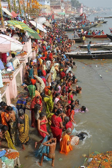 """On the Ganges"" photo by Joan Saba - 2012 Year End Winner"