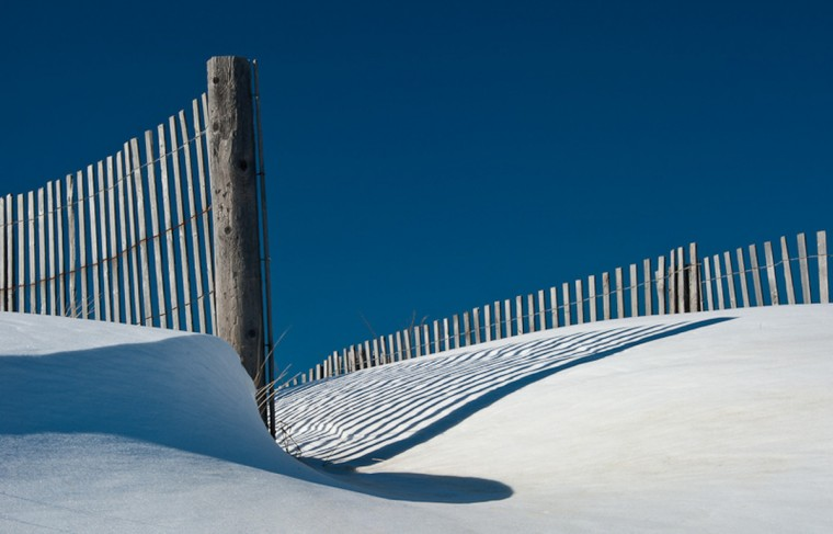 """Snow Dune"" photo by Annette Conniff"