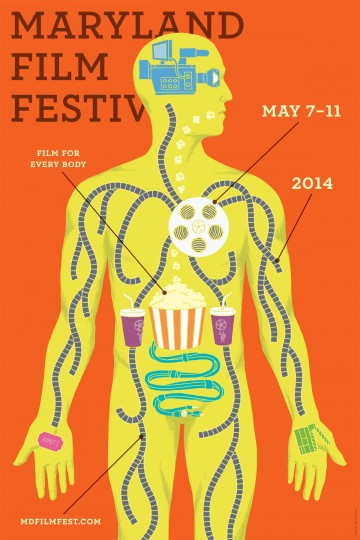 2014 Maryland Film Festival (Designed by Post Typography)
