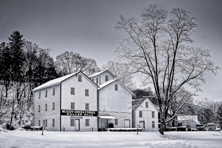 """Muddy Creek Forks Roller Mill"" photo by Jeffrey Wolk - 2012 Year End Winner"