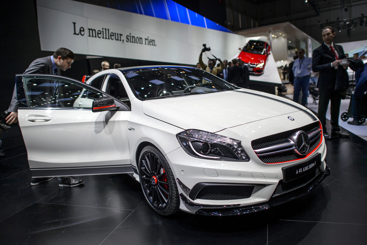 Hot cars at the 83rd geneva international motor show - Mercedes car show ...