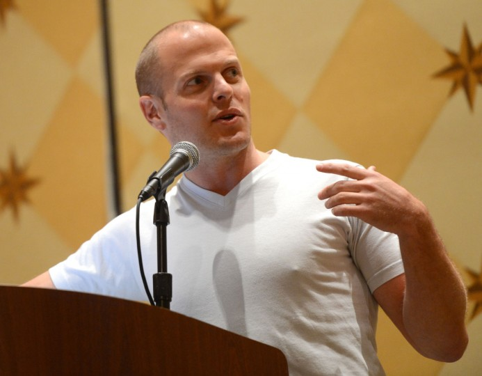 Author Tim Ferriss speaks at the Acquiring The Skill of Meta-Learning during the 2013 SXSW Music, Film + Interactive Festival at the Hilton Austin on March 9, 2013 in Austin, Texas. (Michael Buckner/Getty Images for SXSW)