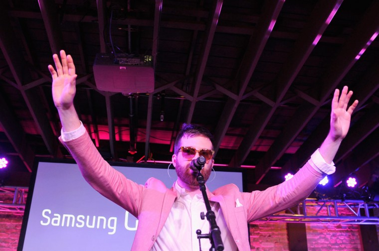 Mayer Hawthorne performs at SXSW on March 12, 2013 in Austin, Texas. (John Sciulli/Getty Images for Samsung)