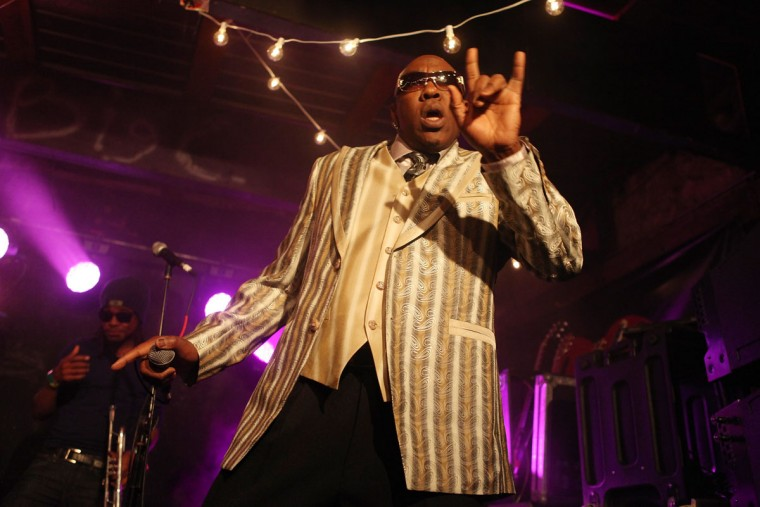 Wanz performs onstage at SXSW on March 12, 2013 in Austin, Texas. (Roger Kisby/Getty Images for iHeartradio)