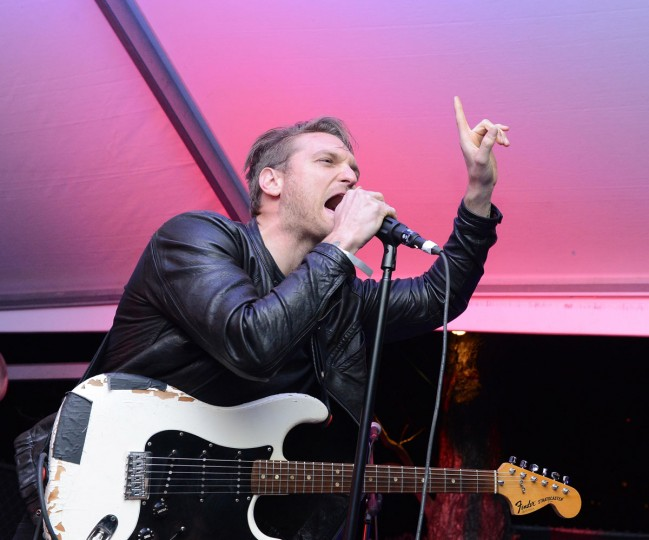 Jonnie Russell of Cold War Kids performs at the Normaltown Showcase during the 2013 SXSW Music, FIlm + Interactive Festival at the Velveeta Room on March 13, 2013 in Austin, Texas. (Photo by Michael Buckner/Getty Images)