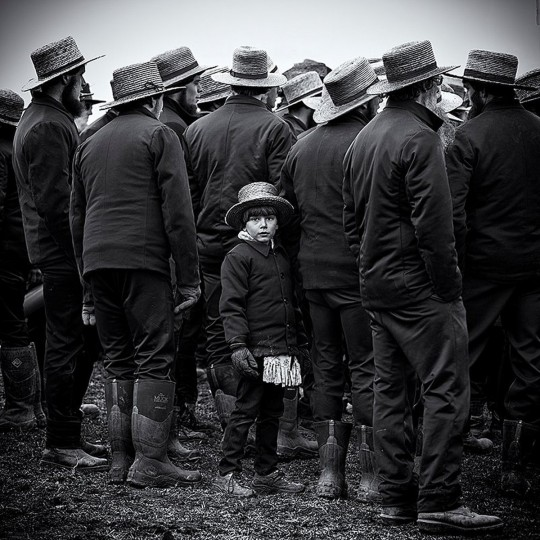 """Amish Boy"" photo by Steve Oney"