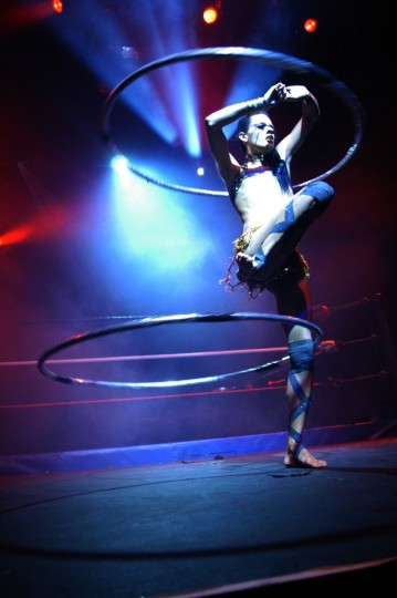 May 8, 2010: Lucha VaVoom blends Mexican wrestling, vintage burlesque and live comedy at Sonar. (Lucha VaVoom/Handout)