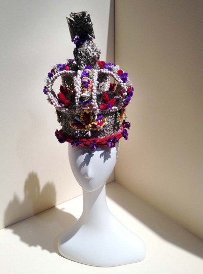 British crowns depicted by flowers at the 2013 Philadelphia Flower Show. (Michelle Deal-Zimmerman/Baltimore Sun)