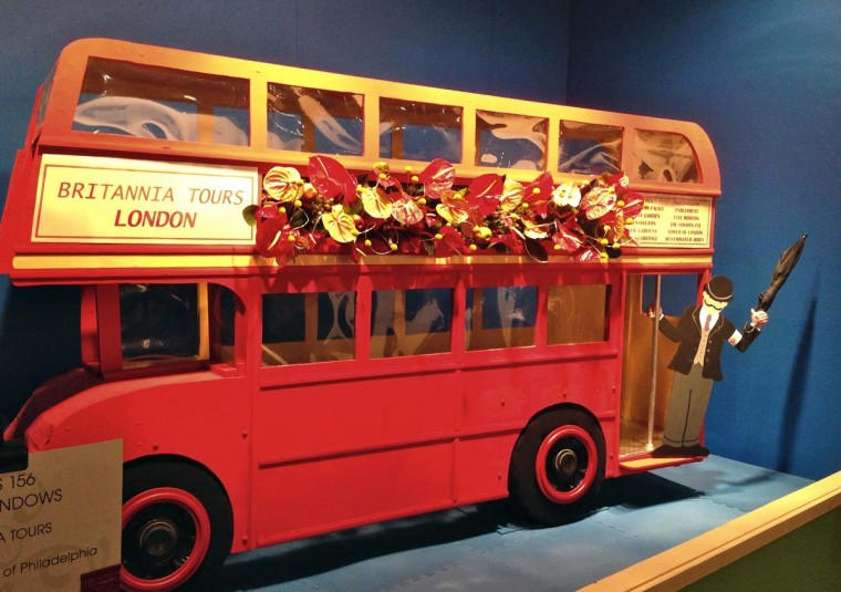 The 2013 Philadelphia Flower Show paying tribute to all things British. (Michelle Deal-Zimmerman/Baltimore Sun)