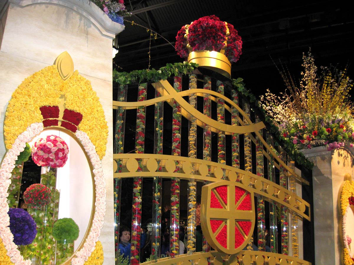 184th philadelphia flower show finds inspiration in british culture - Royal flower show ...
