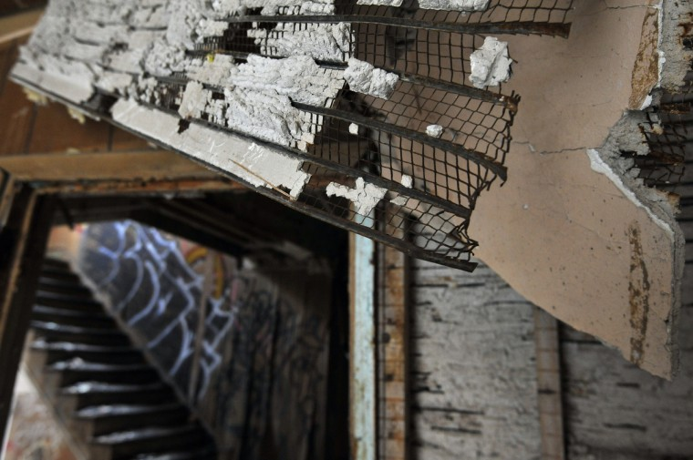 The Henryton complex, closed since 1985, has had 70 fires over the past decade, including one within the last two weeks, local fire officials say. The abandoned buildings are slated for demolition, but no date is set. (Kim Hairston/Baltimore Sun)