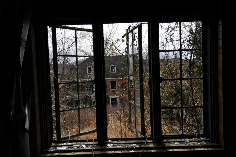 The Henryton complex, originally built in 1922 as a sanitarium for African-Americans with tuberculosis. Four decades later it was employed as a facility for developmentally disabled adults. The facility has been closed since 1985. (Kim Hairston/Baltimore Sun)