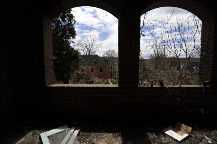 The Henryton complex, originally built in 1922 as a sanitarium for African-Americans with tuberculosis. Four decades later it was employed as a facility for developmentally disabled adults. Closed since 1985, there've been 70 fires there over the past decade, including one within the last two weeks, local fire officials say. (Kim Hairston/Baltimore Sun)