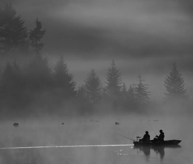 """""""Morning Catch"""" photo by Steve Sattler"""