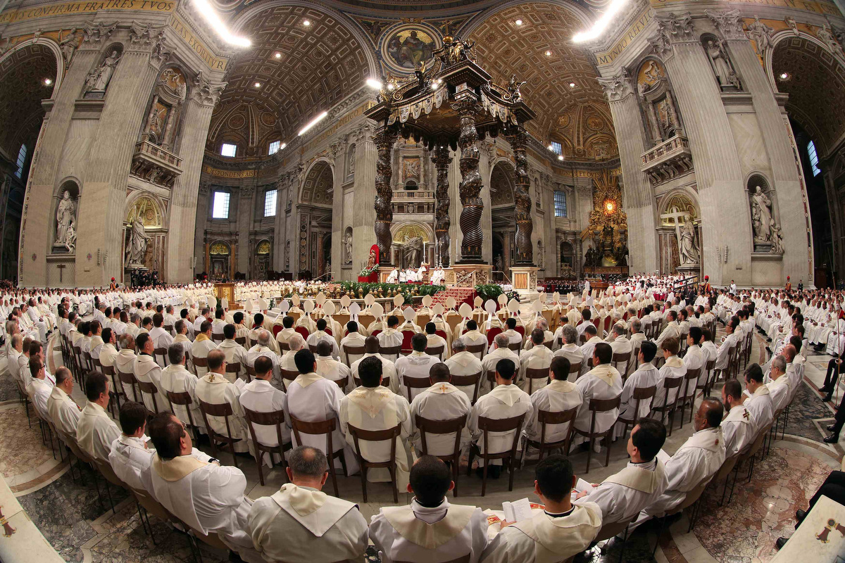 March 28 Photo Brief Pope Francis Leads Chrismal Mass A