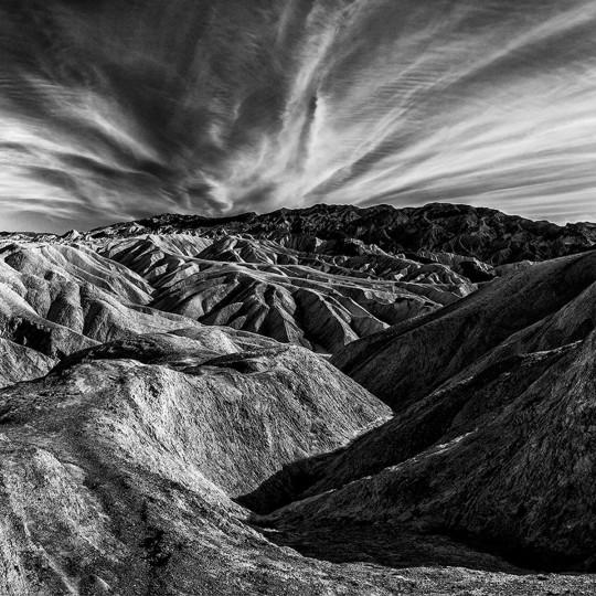 """""""Zabriskie Point Sunset"""" photo by Don Vetter"""