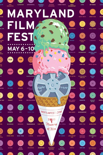 2015 Maryland Film Festival (Designed by Post Typography)