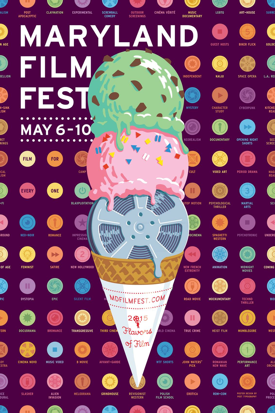 Posterized: Maryland Film Festival, 1999-2015