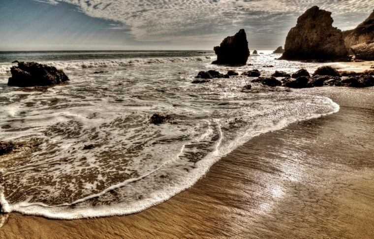 """Malibu Beach""photo by Jim Voeglein"