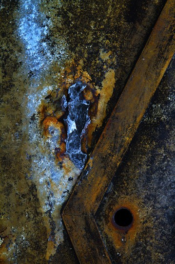 """Rust Abstract"" photo by Steve Oney"