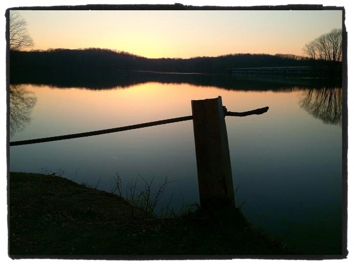 Liberty Reservoir, just prior to sunrise. (Robert K. Hamilton/Baltimore Sun Photo)
