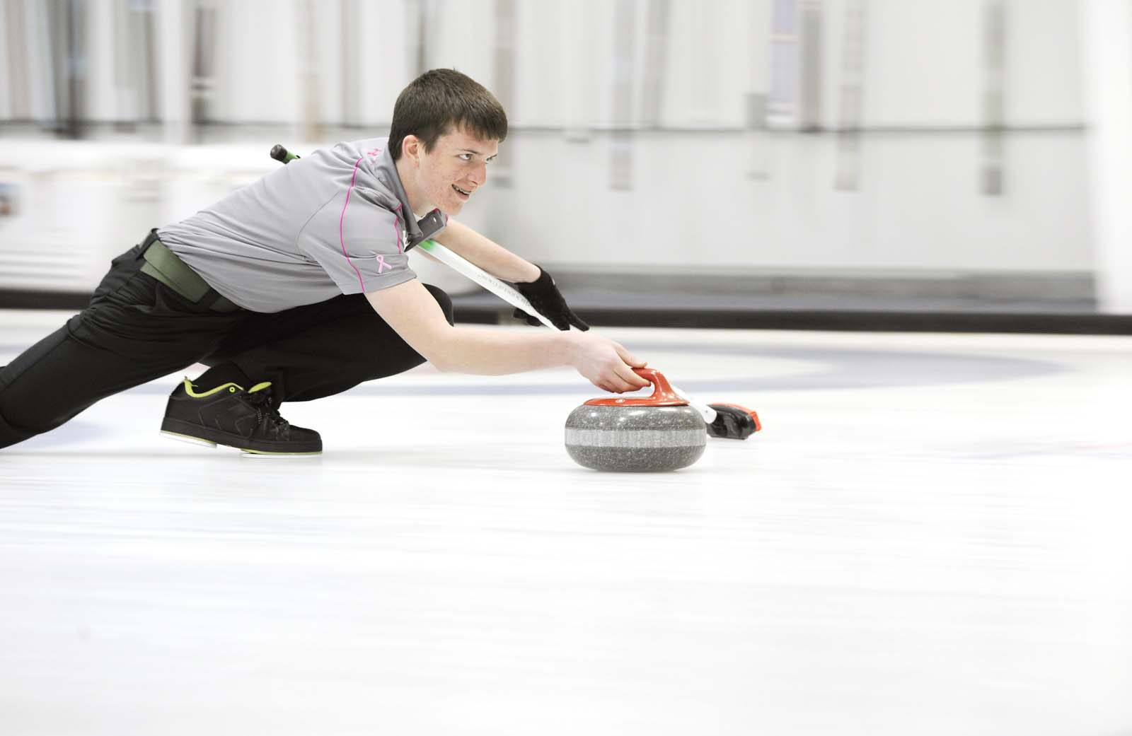 Curling like a champion