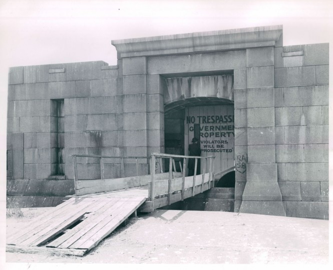 Fort Carroll in 1948. (Baltimore Sun File Photo)