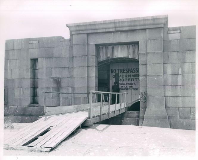 Fort Carroll in 1948. (Baltimore Sun File Photo)
