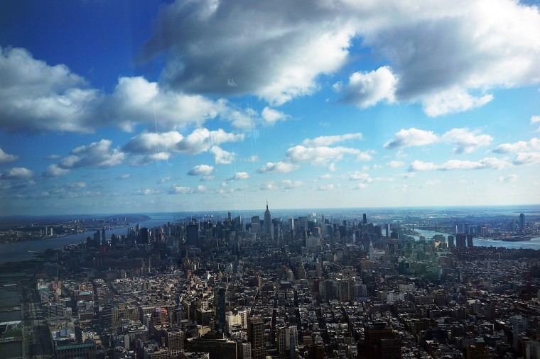 One World Observatory is situated more than 1,250 feet over lower Manhattan and will open to the public in 2015. (Spencer Platt/Getty Images)