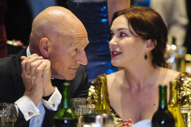 Actor Patrick Stewart attends the White House Correspondents' Association Dinner on April 27, 2013 in Washington, DC. The dinner is an annual event attended by journalists, politicians and celebrities. (Pete Marovich-Pool/Getty Images)