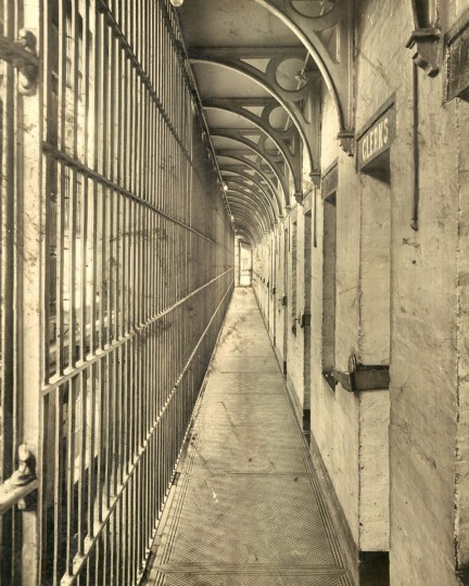 The Baltimore City jail in 1930. (Baltimore Sun File Photo)
