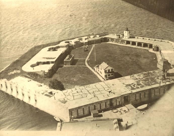 Fort Carroll in 1928. (Baltimore Sun File Photo)