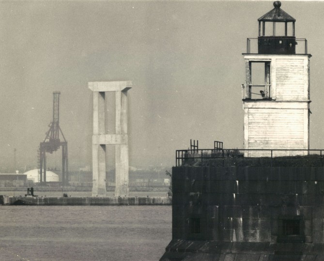 Fort Carroll in 1974. (Weyman Swagger, The Baltimore Sun)