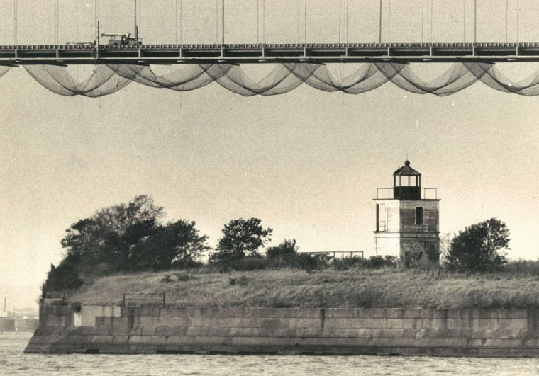 Fort Carroll in 1977. (Baltimore Sun File Photo)