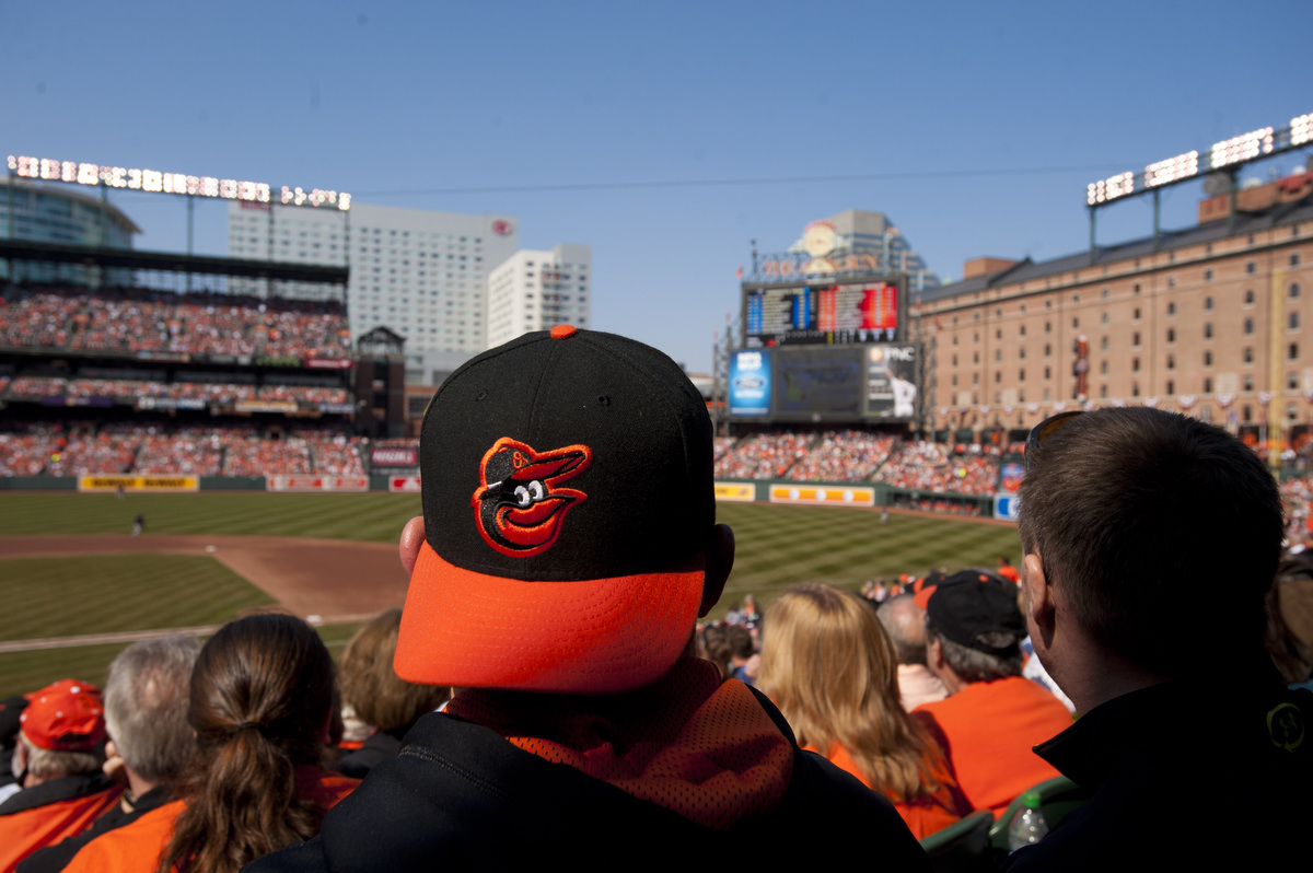 BBA 2013 ORIOLES HOME OPENING DAY