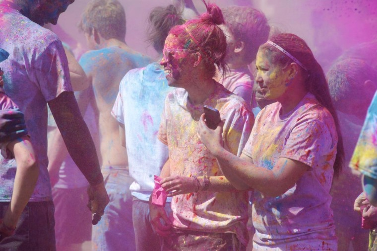 View more photos from Holi Run. (Credit: Kaitlin Newman)