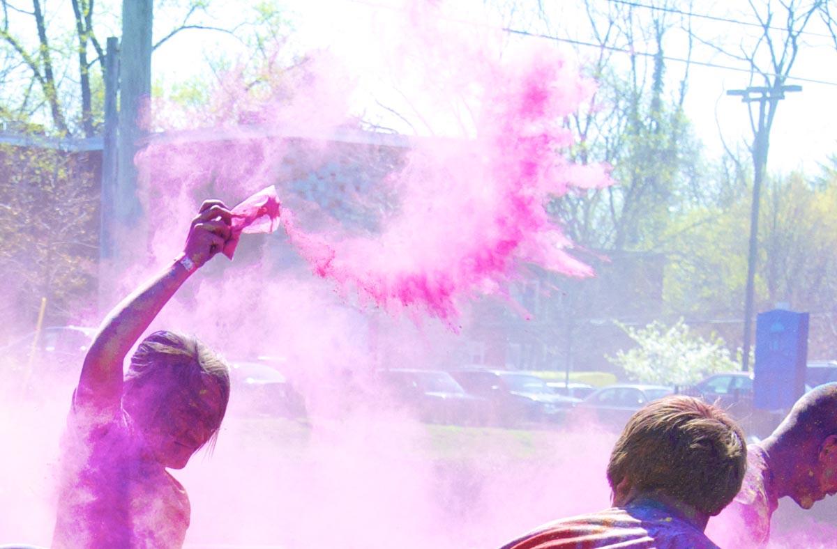 Towson University celebrates first ever Holi Run