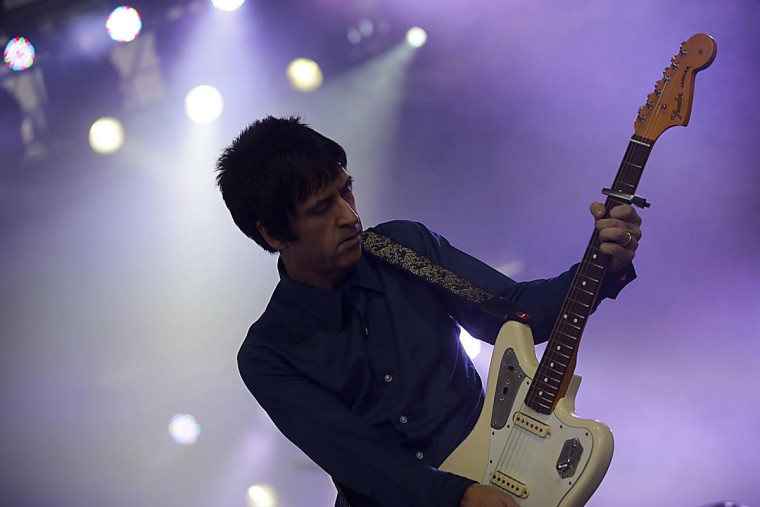 Johnny Marr performs during the Coachella Music & Arts Festival on Friday, April 12, 2013, in Indio, California. (Luis Sinco/Los Angeles Times/MCT Photo)