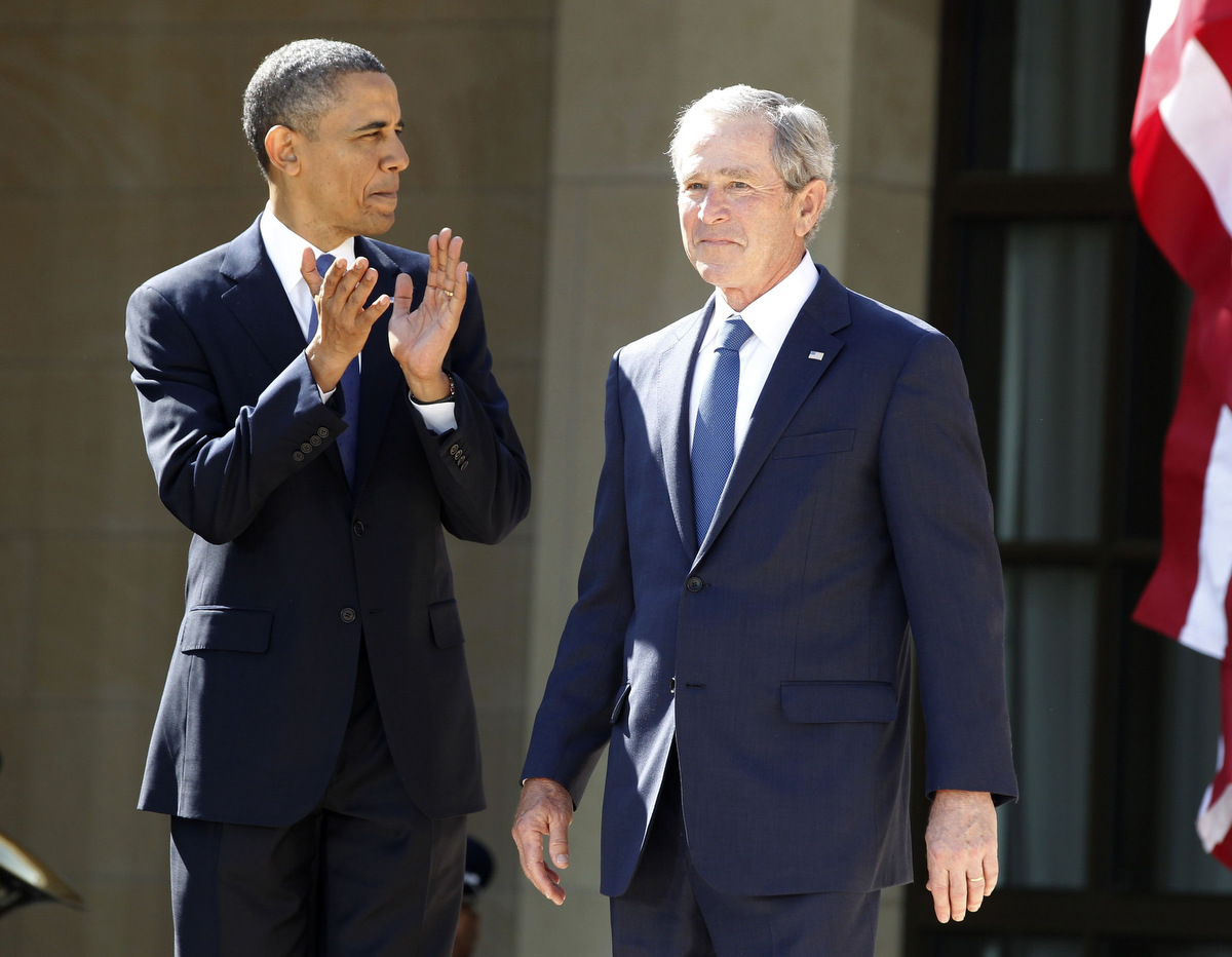 George W. Bush Presidential Center is dedicated in Dallas
