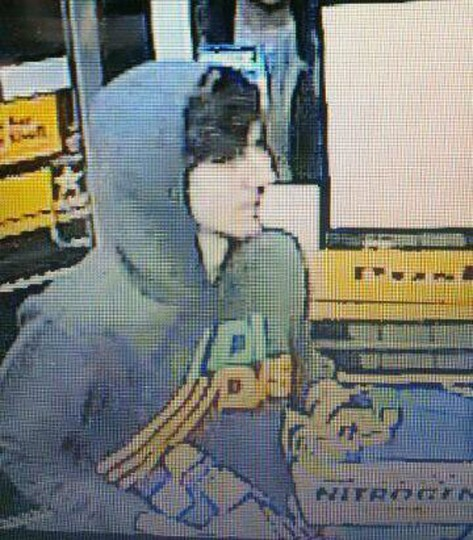 A suspect wanted for questioning in relation to the April 15 Boston Marathon bombing is seen in handout photo released through the Boston Police Department Twitter page, April 19, 2013. (Boston Police Department/Handout photo)